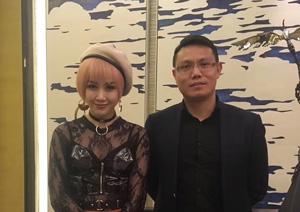 明星代言公司携手著名歌手张帝,王蓉在劲嘉集团举办演唱会